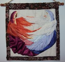 studio1world bahai inspired art - Angels of Fire and Snow