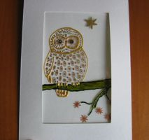 studio1world bahai inspired art - Diverse Bird cards - Artcards made with glass paint