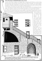 studio1world bahai inspired art - Drawing: House of