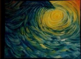 studio1world bahai inspired art - Drups of one ocean