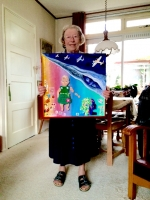 studio1world bahai inspired art - HEREMETIJD - Justine