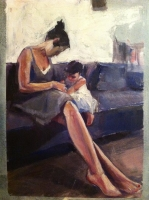 studio1world bahai inspired art - mother and child