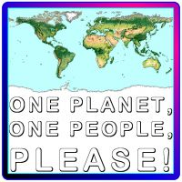 studio1world bahai inspired art - One planet, one people