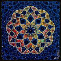 studio1world bahai inspired art - The nine pointed star