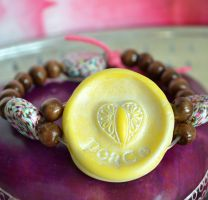 studio1world bahai inspired art - Virtue bracelet PEACE