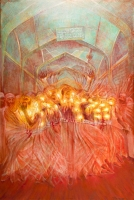 studio1world bahai inspired art - Dance of the Beloved