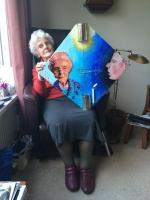 studio1world bahai inspired art - HEREMETIJD - Nella