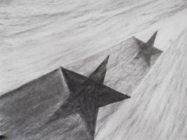 studio1world bahai inspired art - Stars in each others shadow