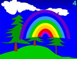 studio1world bahai inspired art - The Rainbow Game